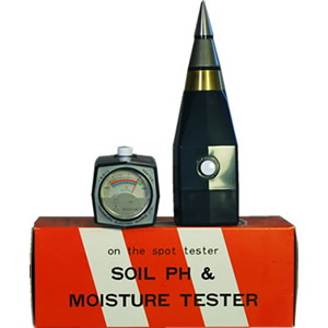 Soil PH and Moisture Meter DM-151
