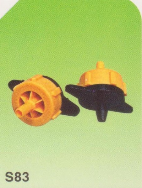 PCT 0102 Dripper Sprinkler Yellow-Black (2L)1