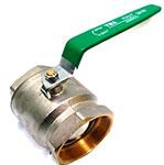 Tivoli Brass Valve with Green Handle1