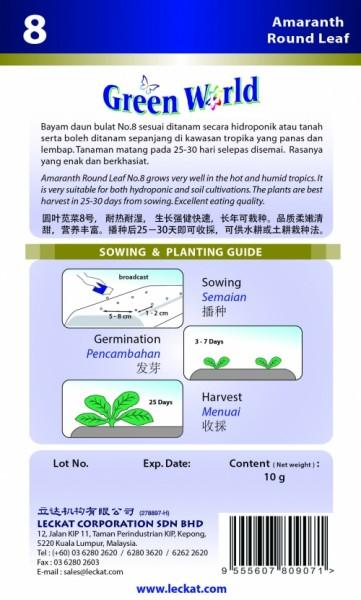 GW008 Amaranth Round Leaf2